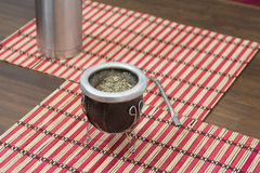 Yerba mate argentina Royalty Free Stock Photo