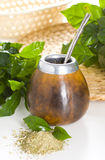 Yerba mate cup Stock Photos