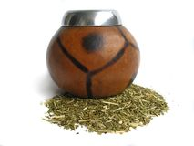 Yerba mate cups Stock Photos