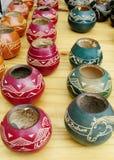 Yerba mate cups Stock Image
