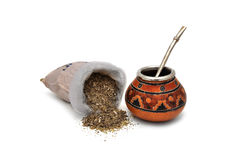 Yerba Mate tea Stock Photo