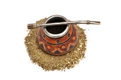 Yerba Mate tea Stock Image