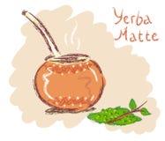 Yerba matte Stock Photo