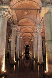 Yerebatan Saray cistern Royalty Free Stock Photo