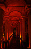 Yerebatan Sarayi (Basilica Cistern) (Istanbul, Tur Royalty Free Stock Photo