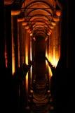 Yerebatan Sarn?c? Costantinopoli Fotografia Stock