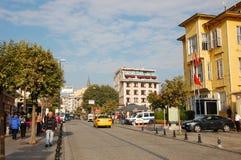 Yerebatan Street. The Yerebatan street in Istnbul at sunny morning Royalty Free Stock Photos