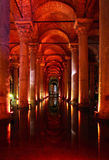 Yerebatan - Underground basilica cistern. Royalty Free Stock Image