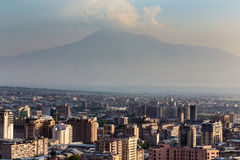Yereva, Ararat Stockfoto