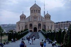 Yerevan, Armênia, o 16 de setembro de 2017: O St Gregory o mal Fotos de Stock Royalty Free