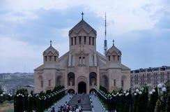 Yerevan, Armênia, o 16 de setembro de 2017: O St Gregory o mal Imagens de Stock Royalty Free