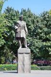 Yerevan, Armenië, 06 September, 2014 Armeense scène: Niemand, het monument aan Alexander Griboedov stock foto