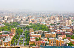 YEREVAN, ARMENIA, JUNE, 23: City Yerevan, mountain Royalty Free Stock Photo