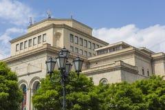 YEREVAN ARMENIA, MAJ, - 02, 2016: Historii muzeum i Nati Zdjęcie Stock