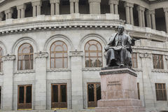 YEREVAN, ARMENIA - MAY 18, 2016: State Academic Opera and Ballet Royalty Free Stock Photo