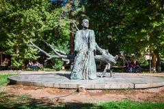Yerevan, Armenia - September 26, 2016: The statue of Komitas Stock Photos