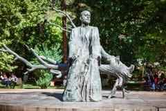 Yerevan, Armenia - September 26, 2016: The statue of Komitas Stock Image