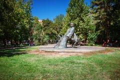 Yerevan, Armenia - September 26, 2016: The statue of Komitas Royalty Free Stock Photography