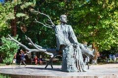 Yerevan, Armenia - September 26, 2016: The statue of Komitas Royalty Free Stock Photos
