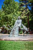 Yerevan, Armenia - September 26, 2016: The statue of Komitas Royalty Free Stock Images