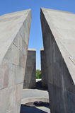 Yerevan, Armenia, September, 06, 2014. Tsitsernakaberd, memorial to the honer of the victims of the Armenian Genocide of 1915, the Stock Photography