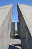 Yerevan, Armenia, Wrzesień, 06, 2014 Tsitsernakaberd, pomnik honer ofiary Armeński ludobójstwo 1915 Fotografia Stock