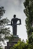 Yerevan, Armenia, 21 2017 Wrzesień: Macierzysta Armenia statua lub Ma Zdjęcie Royalty Free