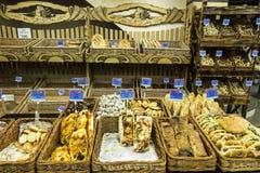 Yerevan, Armenien 21. September 2017: Brot, Rollen und anderes Ba Stockbild
