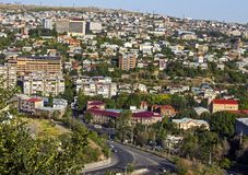 Yerevan - the capital and the largest city of Armenia royalty free stock photography