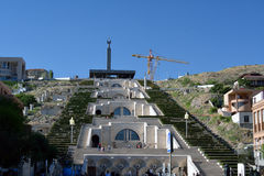 Yerevan cascade Stock Photo