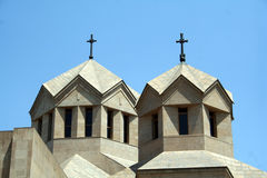 Yerevan Cathedral Royalty Free Stock Photography