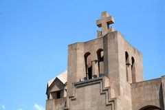 Yerevan Cathedral Stock Photography