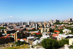 Yerevan city Stock Images