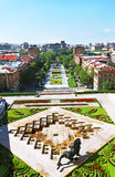 Yerevan city Royalty Free Stock Photography