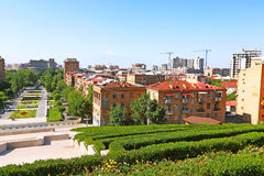 Yerevan city Royalty Free Stock Photos