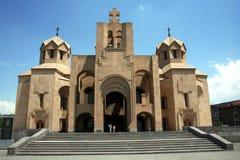 Yerevan domkyrka royaltyfri foto