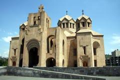 Yerevan Kathedraal Stock Afbeelding