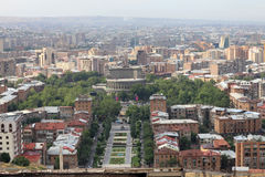 Yerevan in the morning Royalty Free Stock Image
