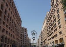 Yerevan nordlig aveny arkivbild