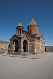 Yerevan: Old church near the Ararat. Armenia: Yerevan: Old church near the Ararat, sept. 2011 Royalty Free Stock Photos