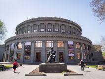 Yerevan Opera Theater Stock Photography