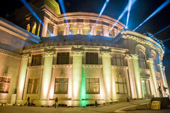Yerevan opera theatre Royalty Free Stock Photography