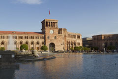 Yerevan Republic Square Armenia Royalty Free Stock Images