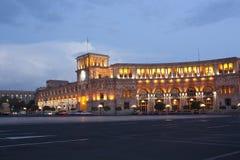 Yerevan, Republik-Quadrat Lizenzfreies Stockfoto