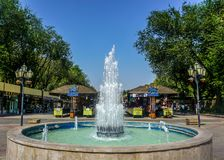 Yerevan Vernissage Market Fountain royalty free stock photo
