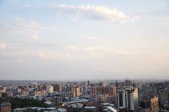 Yerevan. A view overlooking the town (Yerevan, Armenia Stock Photography