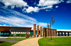 Yering in Yarra valley. Yering is the famous Chateau in Melbourne  Australia Stock Photos