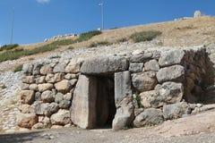 Yerkapien i Hattusa, Turkiet Royaltyfri Fotografi