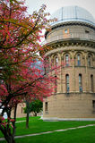 Yerkes Observatory, Fall Colors Royalty Free Stock Photos