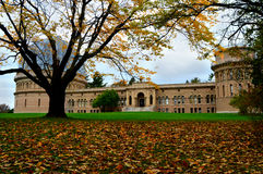 Yerkes Observatory, Fall. This is the Yerkes Observatory, part of the University of Chicago, located in Williams Bay, WI. This was taken in October with the stock image